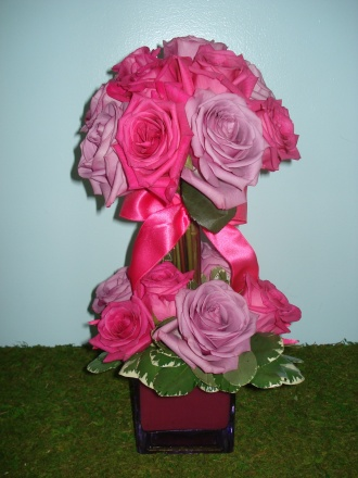 Pink Passion Topiary
