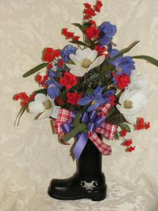 MOTORCYLE BOOT BOUQUET