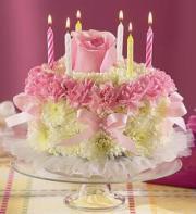 800 Flowers Cake