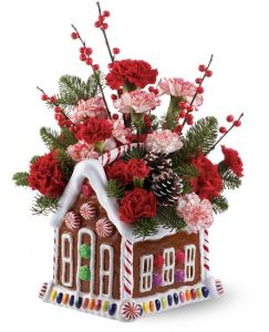 The Gingerbread House Bouquet