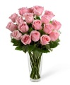 The 2 Dozen Long Stem Pink Rose Bouquet