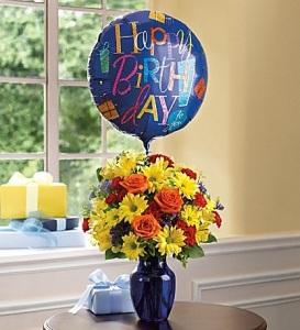 The Vibrant Birthday Bouquet