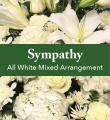 All White Mixed Arrangement