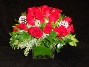 Festive Rose Bouquet