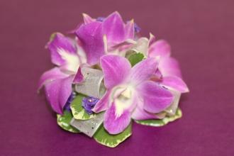 Lavender Orchid Corsage