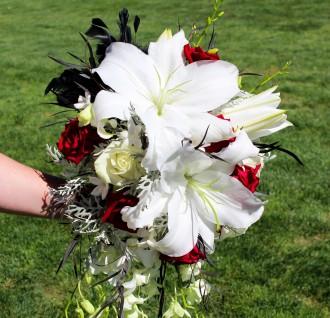Black Lace Bride