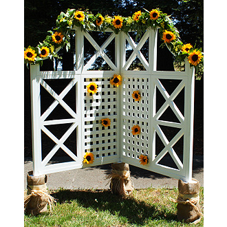 Sunny Sunflowers decorations