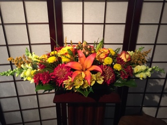 Fall Festive Centerpiece