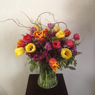 Assorted Two Dozen Tulips