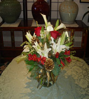 Christmas Mix Centerpiece