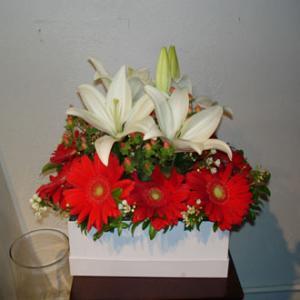 Modern Gerberas and Lilies