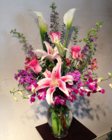 Spring Mix Signiture with Orchids