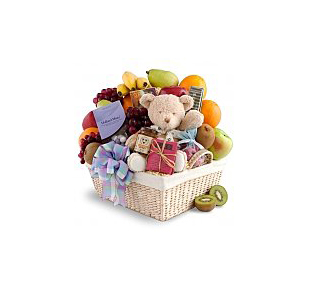New Arrival Fruit Gourmet Basket