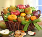 Premium Orchard Fruit Basket