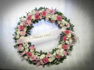 Joyful Goodbye Wreath
