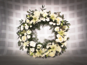 Peaceful Remembrance Wreath