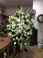 EFG 003 Large White funeral spray