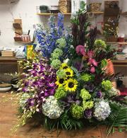EFG225 Custom sympathy funeral arrangement