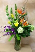 Ruth Messmer Florist Tropical Paradise Bouquet