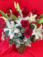Ruth Messmer Florist Lilies and Roses