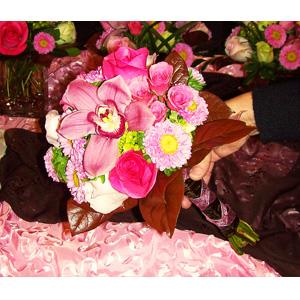 Perfectly Pink Bridesmaids Bouquet