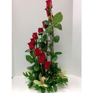 Orchid 'n Rose Spiral