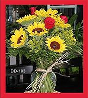 Sun Flowers & Roses