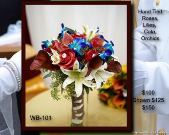 Hand Tied Bouquet    WB-101