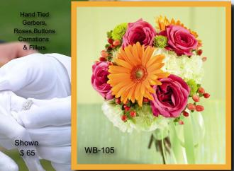 Hand Tied Bouquet    WB-105