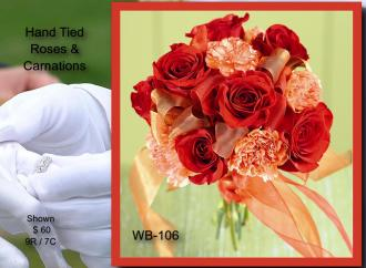 Hand Tied Bouquet    WB-106