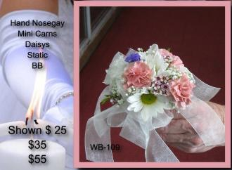 Hand Tied Bouquet    WB-109