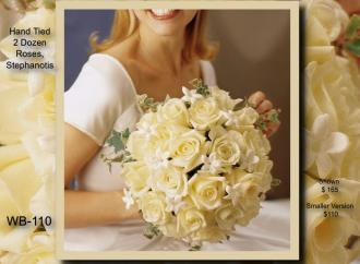 Hand Tied Bouquet    WB-110