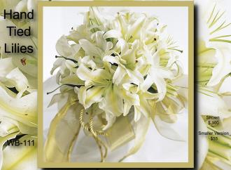 Hand Tied Bouquet    WB-111