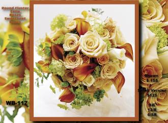 Hand Tied Bouquet    WB-117