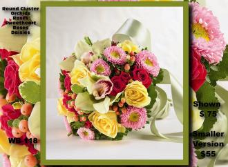Hand Tied Bouquet    WB-118
