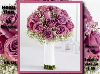 Hand Tied Bouquet    WB-126
