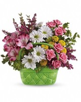Teleflora's Basket of Beaty Bouquet