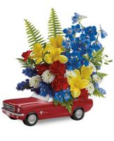 Teleflora's '65 Ford Mustang