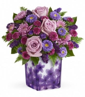 Teleflora\'s Happy Violets Bouquet