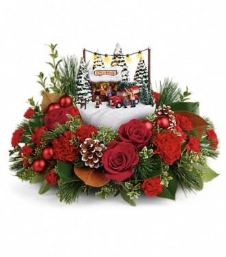 Thomas Kinkade\'s Festive Moments Bouquet