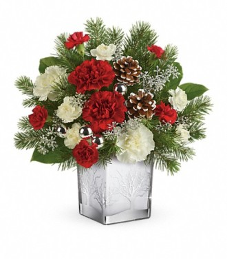 Teleflora\'s Woodland Winter Bouquet