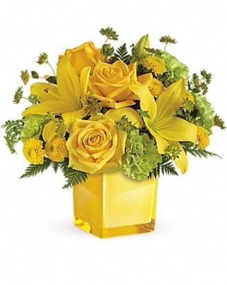 Teleflora\'s Sunny Mood Bouquet