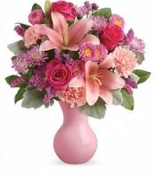 Teleflora's Lush Blush Bouquet