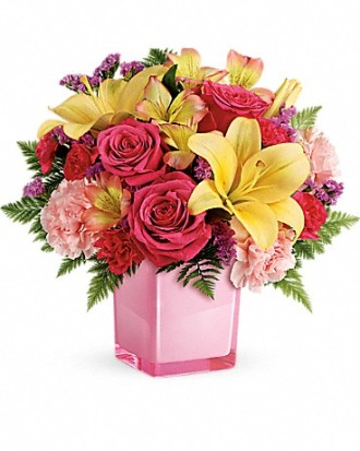 Teleflora\'s Pop Of Fun Bouquet