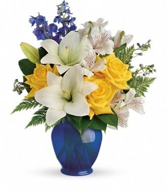 Teleflora\'s Oceanside Garden Bouquet