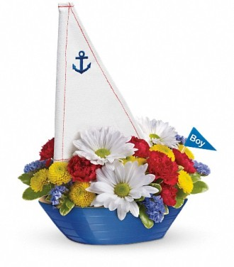 Teleflora\'s Little Dreamboat Bouquet