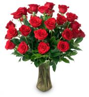 2 Doz Red Roses