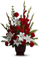 Teleflora's Tender Tribute Arrangement
