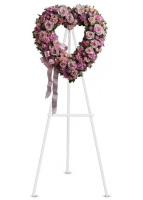 Teleflora's Rose Garden Open Heart Wreath