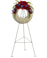 Teleflora's Reflections of Glory Open Wreath